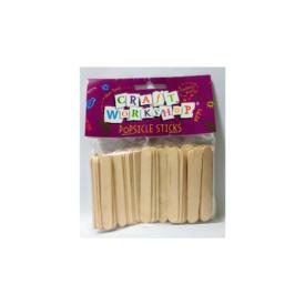 Mini Popsicle Sticks (160 Pce)