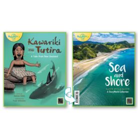 Kawariki And Tutira & Sea And Shore – Flipside Book (Small Book)