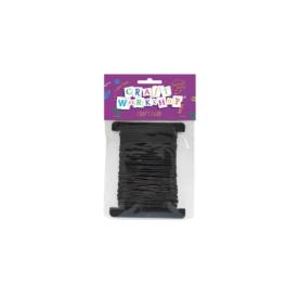 Craft Wax Cord – Black (8m)