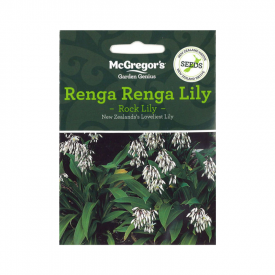 Renga Renga Lily – Rock Lily (Native New Zealand Seeds)
