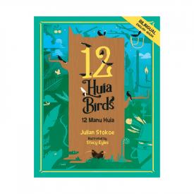 12 Huia Birds – 12 Manu Huia