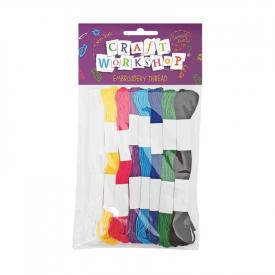 Embroidery Thread – Coloured (8 Pce)