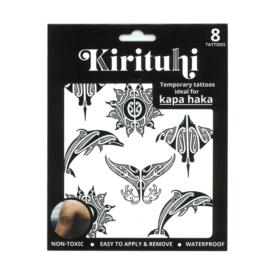 Māori Design Sun & Sea – Temporary Tattoos (8 Pce)